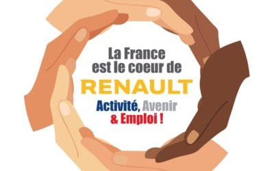 Visuel CFE-CGC – La France est le Cœur de Renault : téléchargez-le !